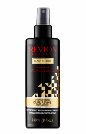 Revlon Realistic Naturally Strong Strengthening Curl Revive Non Greasy 8 oz - Melanin Beauty Suppliers