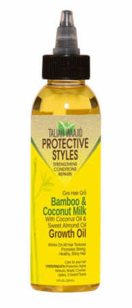 Taliah Waajid Bamboo and Coconut Milk Growth Oil 4 oz - Melanin Beauty Suppliers