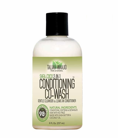 Taliah Waajid Shea Coco 2 In 1 Conditioning Co Wash 8 oz - Melanin Beauty Suppliers