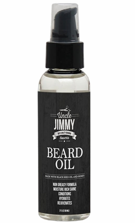 Uncle Jimmy Beard Oil 2 oz - Melanin Beauty Suppliers