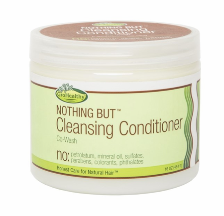 Gro Healthy Nothing But Conditioner Cleansing 16 oz - Melanin Beauty Suppliers