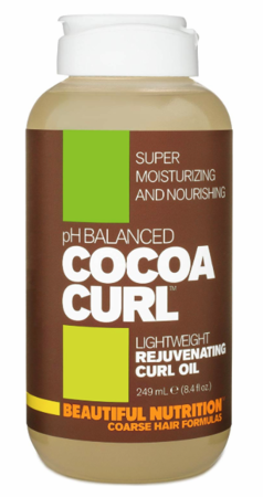 Beautiful Nutrition Cocoa Curl Rejuvenating Curl Oil 8.4 oz - Melanin Beauty Suppliers