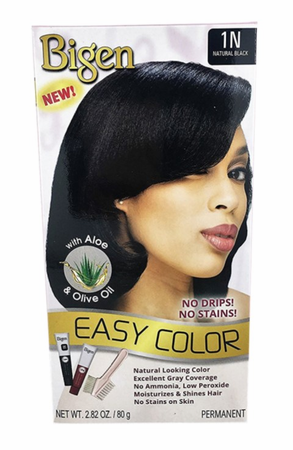 Bigen Easy Color Hair Color Natural Black - Melanin Beauty Suppliers