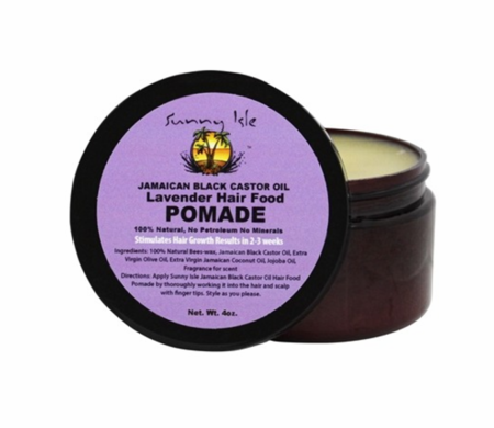 Sunny Isle Lavender Jamaican Black Castor Oil Pomade 4 oz - Melanin Beauty Suppliers