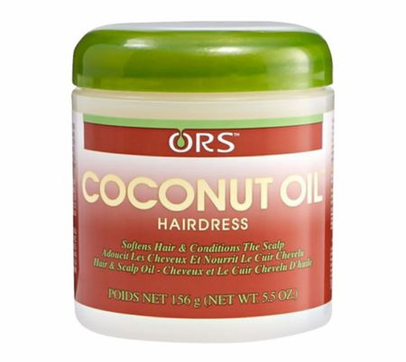 ORS Coconut Oil Hairdress 5.5 oz jar - Melanin Beauty Suppliers