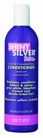 One N Only Shiny Silver Ultra Conditioner 12 oz - Melanin Beauty Suppliers