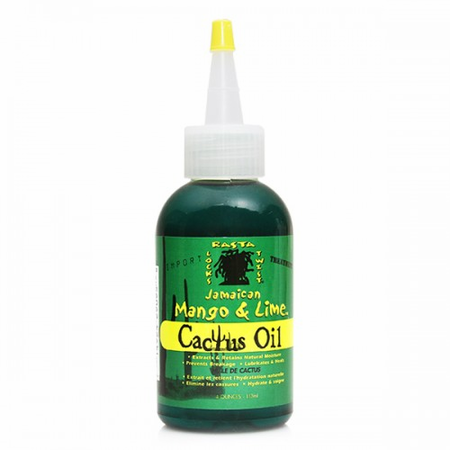Jamaican Mango & Lime Cactus Oil 4 oz - Melanin Beauty Suppliers