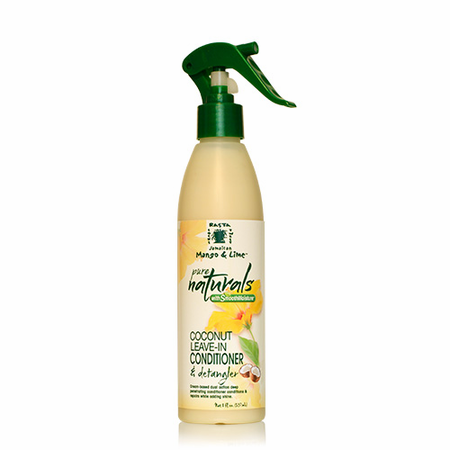 Jamaican Mango & Lime Coconut Leave-In Conditioner & Detangler 8 oz - Melanin Beauty Suppliers