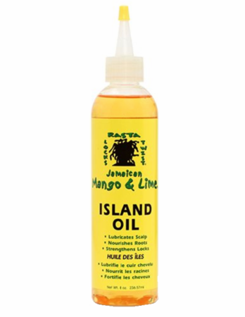 Jamaican Mango & Lime Mango Island Oil 8 oz bottle
