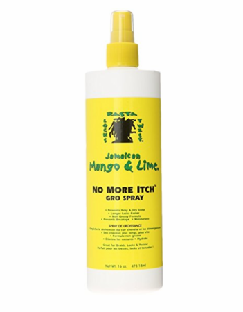 Jamaican Mango & Lime No More Itch Gro Spray 16 oz - Melanin Beauty Suppliers