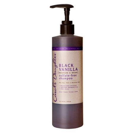Carol's Daughter Black Vanilla Sulfate Free Shampoo 12 oz