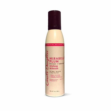 Carol's Daughter Mirabelle Plum Styling Mousse 7 oz - Melanin Beauty Suppliers
