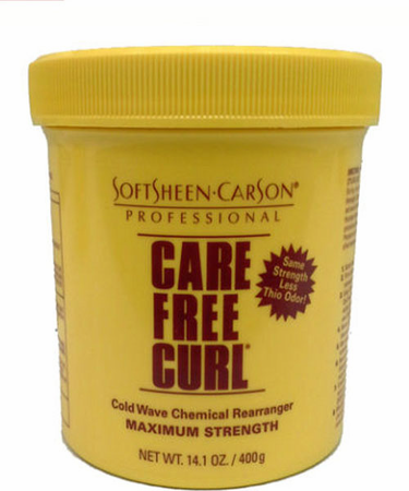 Care Free Curl Chemical Rearranger Maximum Strength 14.1 oz - Melanin Beauty Suppliers