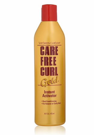 Care Free Curl Gold Instant Activator 16 oz - Melanin Beauty Suppliers