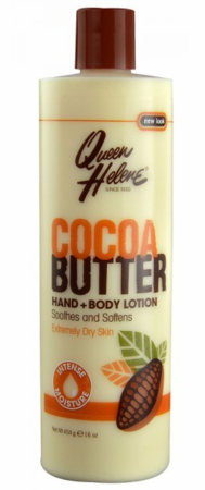 Queen Helene Cocoa Butter Hand & Body Lotion 16 oz - Melanin Beauty Suppliers