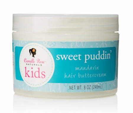 Camille Rose Naturals Kids Sweet Puddin Mandarin Hair Butter Cream 8 oz