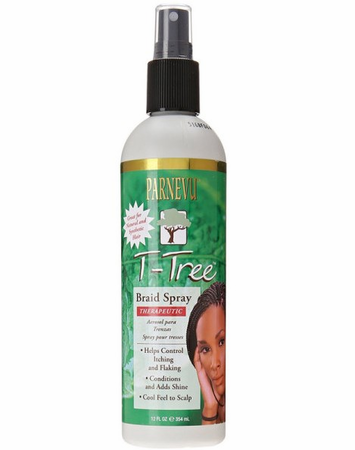 Parnevu T Tree Braid Spray 12 oz - Melanin Beauty Suppliers