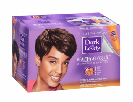 Dark and Lovely Healthy GlossShea Moisture Hair Relaxer Kit Color Treated