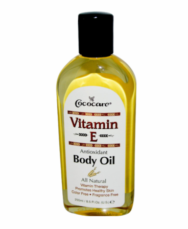 Cococare Vitamin E Antioxidant Body Oil 8.5 oz - Melanin Beauty Suppliers