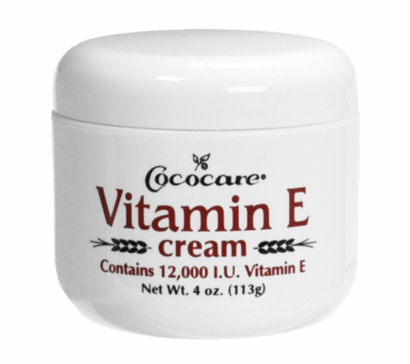 Cococare Vitamin E Cream 12000 IU 4 oz - Melanin Beauty Suppliers