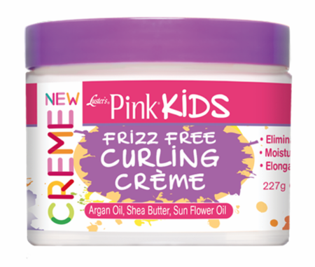 Luster's Pink Kids Frizz Free Curling Creme 8 oz