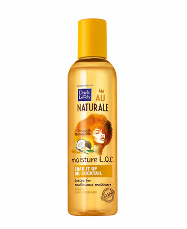 Dark and Lovely Moisture LOC Soak It Up Oil Cocktail 4.1 oz - Melanin Beauty Suppliers