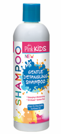 Luster's Pink Kids Gentle Detangling Shampoo - Melanin Beauty Suppliers