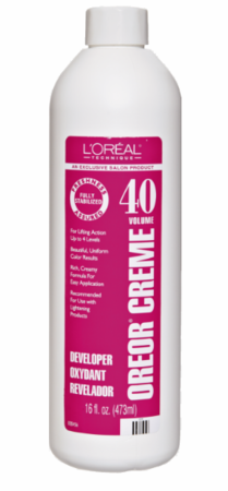 L'Oreal Oreor 40 Volume Creme Developer 16 oz - Melanin Beauty Suppliers