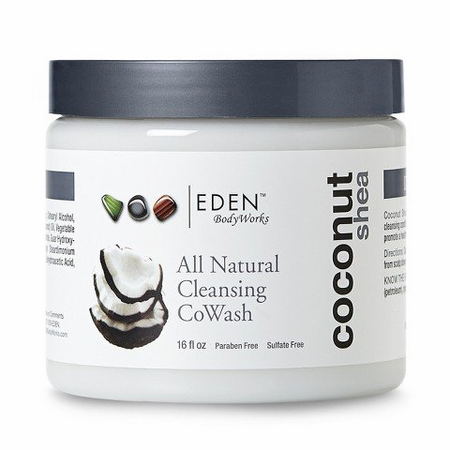 Eden Body Works Coconut Shea Cleansing CoWash 16 oz - Melanin Beauty Suppliers