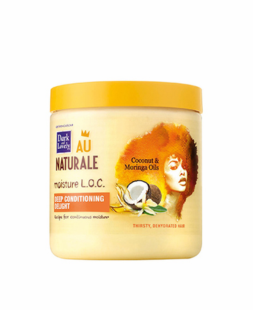 Dark and Lovely Moisture LOC Deep Conditioning Delight 14.4 oz - Melanin Beauty Suppliers