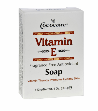 Cococare Vitamin E Soap 4 ozbar - Melanin Beauty Suppliers