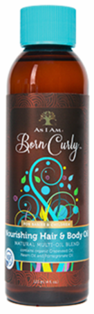 As I Am Nourishing Hair & Body Oil 4 oz - Melanin Beauty Suppliers