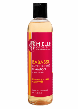 Mielle Babassu Conditioner Shampoo 8 oz