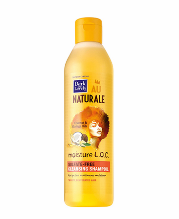 Dark and Lovely Au Naturale Moisture LOC Sulfate Free Shampoo 13.5 oz - Melanin Beauty Suppliers