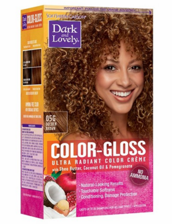 Dark and Lovely Color Gloss Semi Permanent Haircolor