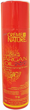 Creme Of Nature Argan Oil Sh/Spry 11.25 - Melanin Beauty Suppliers