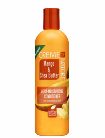Creme of NATURE Mango & Shea Butter Ultra Moisturizing Conditioner 12 oz - Melanin Beauty Suppliers