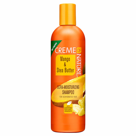 Creme of NATURE Mango & Shea Butter Ultra Moisturizing Shampoo 12 oz
