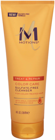 Motions Treat & Repair Color Care Sulfate Free Cleanser 8 oz - Melanin Beauty Suppliers