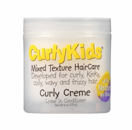 Curly KidsCurly Creme Leave-In Conditioner 6 oz - Melanin Beauty Suppliers
