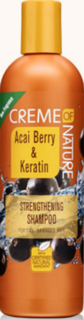 Creme of Nature Acai Berry & Keratin Shampoo 12 oz