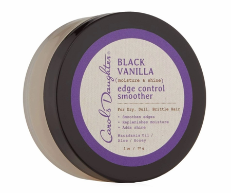 Carol's Daughter Black Vanilla Edge Control Smoother 2 oz - Melanin Beauty Suppliers