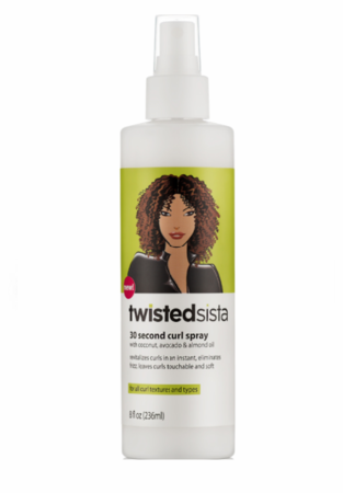 Twisted Sista 30 Second Curl Spray 8 oz