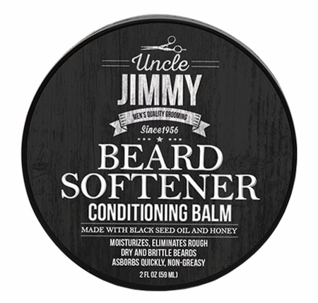 Uncle Jimmy Beard Softener 2 oz - Melanin Beauty Suppliers