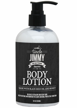 Uncle Jimmy Body Lotion 8 oz - Melanin Beauty Suppliers
