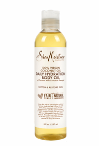 SheaMoisture Coconut Massage Oil 8 oz - Melanin Beauty Suppliers