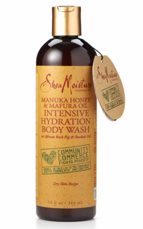SheaMoisture Manuka Honey Body Wash 13 oz - Melanin Beauty Suppliers