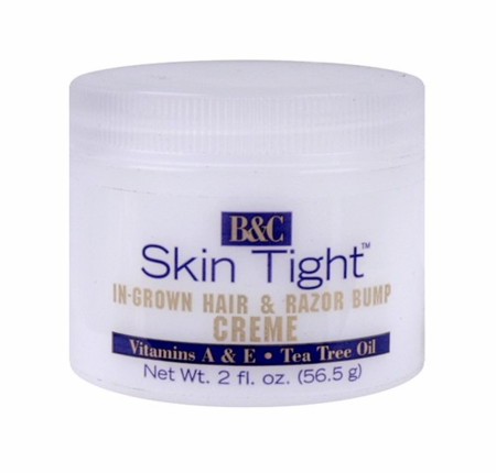 B & C Skin Tight In Grown Hair & RazorBump Creme Regular 2 oz