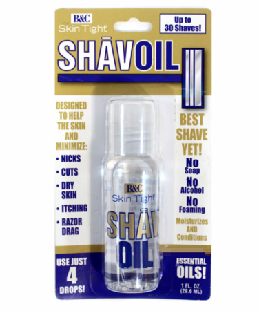 B & C Skin Tight Shav Oil 1 fl oz