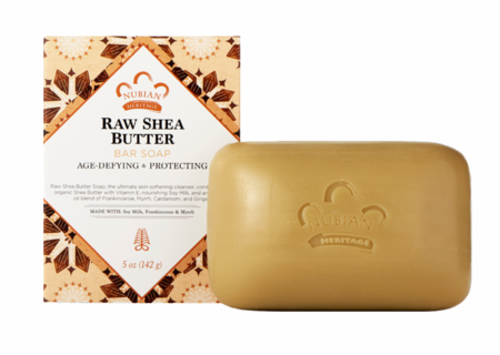 Nubian Heritage Raw Shea Butter Soap 5 oz - Melanin Beauty Suppliers